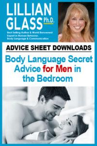 Body Language Secret Advice for Men in the Bedroom